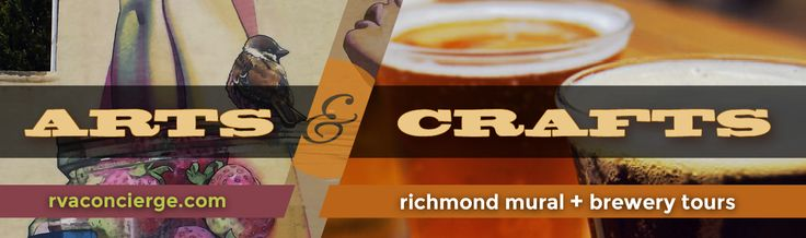 What do you get when you put together an RVA Mural tour and a Brewery tour?  An Arts & Crafts Tour!   For the first time in Richmond VA, First Class Limo is now providing private tours of some of our most beautiful murals and finest local craft breweries. Visit our website to find out more and reserve your very own Arts & Crafts tour. http://www.firstclasslimoservices.com/#!artscrafts/cktc