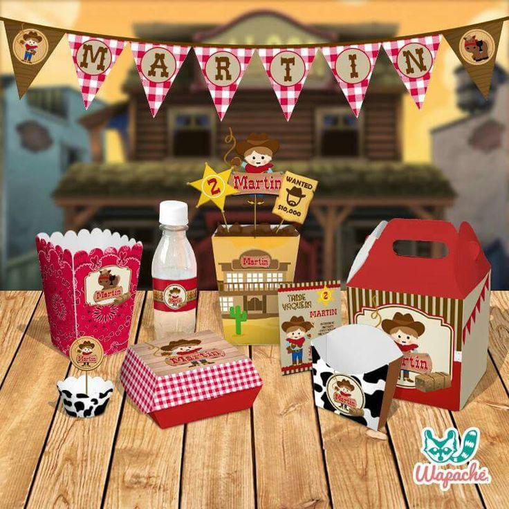 Cow Boy Party 🐴 #birthdaykit #personalized #personaliza