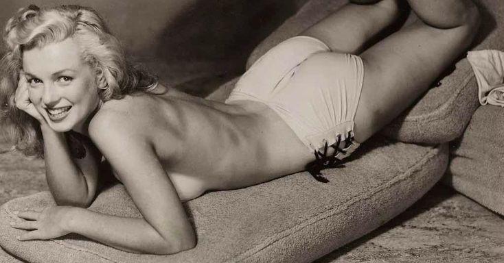 18Fotografías inéditas deMarilyn Monroe alinicio desucarrera