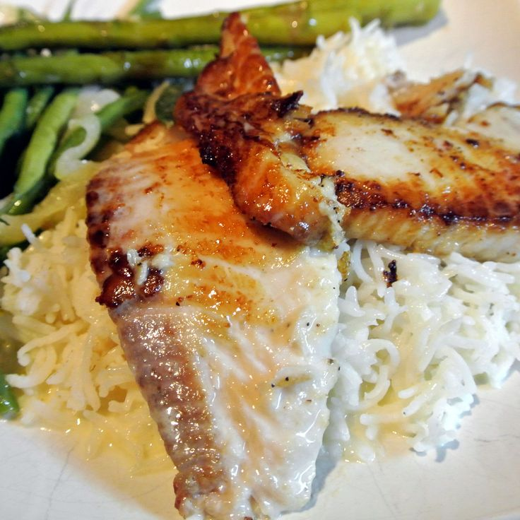 Mom, What's For Dinner?: Grilled Tilapia with Lemon Butter Sauce Recipe