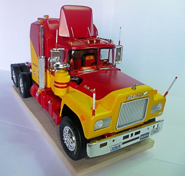 Mack Truck Model Kits : Images about my truck model kits on pinterest