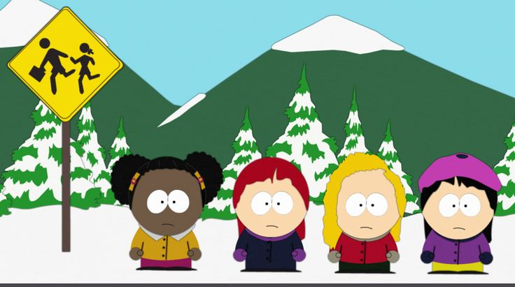 South Park - Bus Stop (Girls Version) by Flip-Reaper-Z on DeviantArt