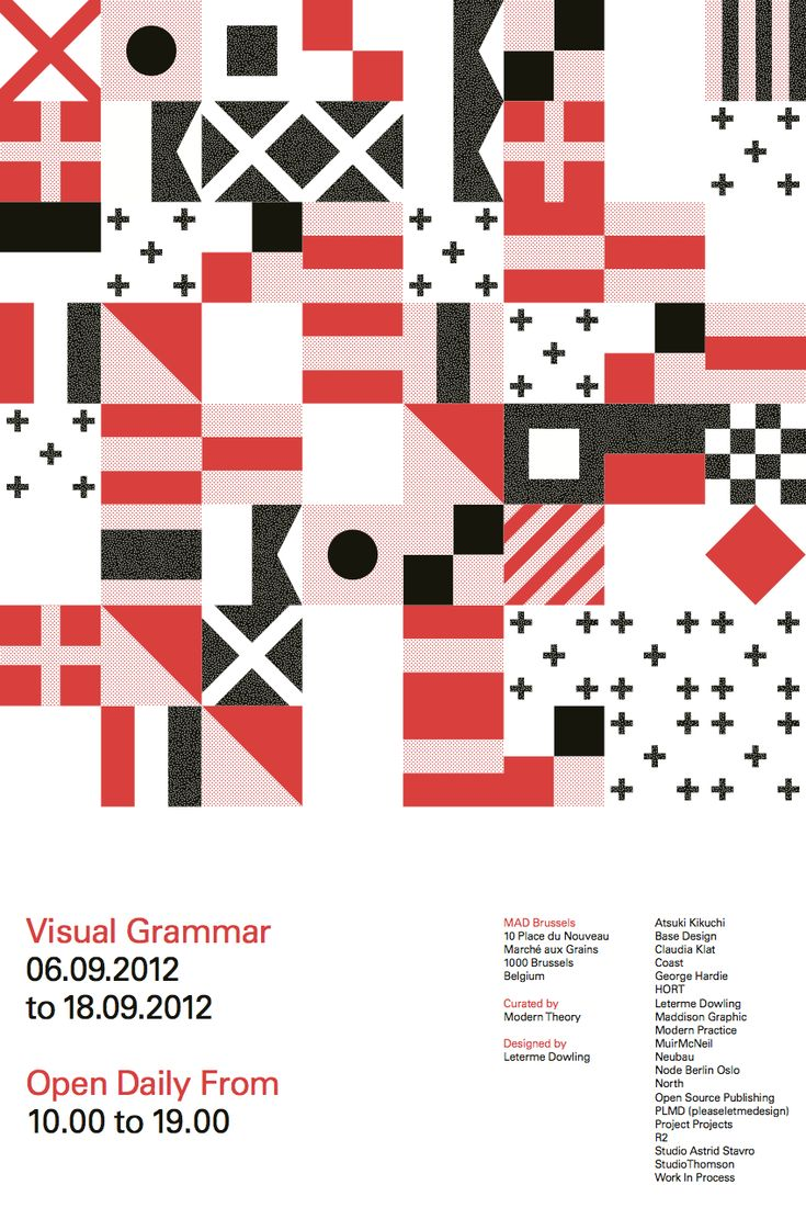 Poster design principles - Visual Grammar Leterme Dowling Png Principles Of Designexhibition Posterdesign