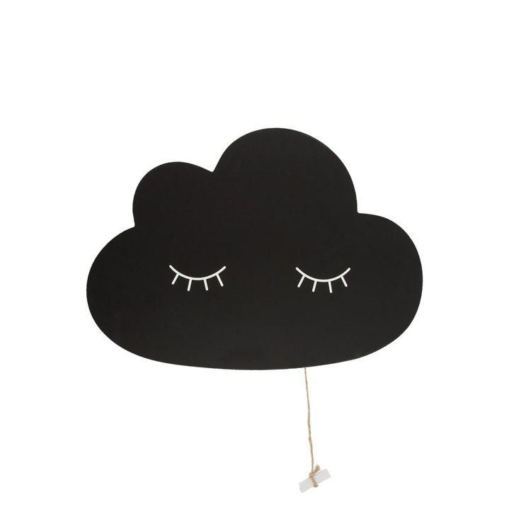 Sass and Belle children's chalkboard. https://www.minimaud.com/product-page/sweet-dreams-cloud-chalkboard