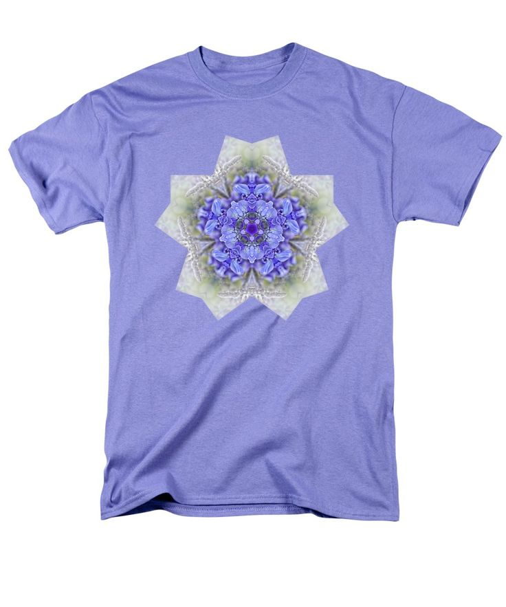 Photography T-Shirt featuring the photograph Pretty Wisteria Kaleidoscope By Kaye Menner by Kaye Menner