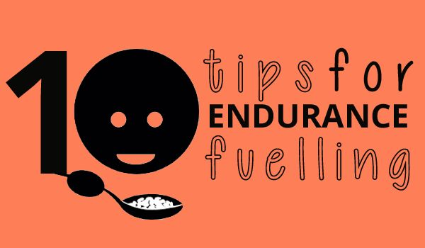 10 Tips for Endurance Fuelling:  How to properly fuel for long distance training and races  #endurance #sport #fitness #nutreats