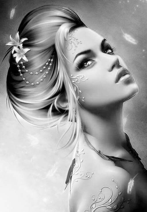 1148 Best Coloring Greyscale People Images On Pinterest