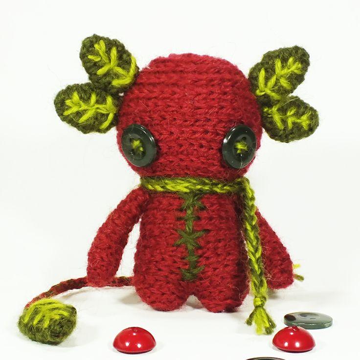 Strawberry buttonie