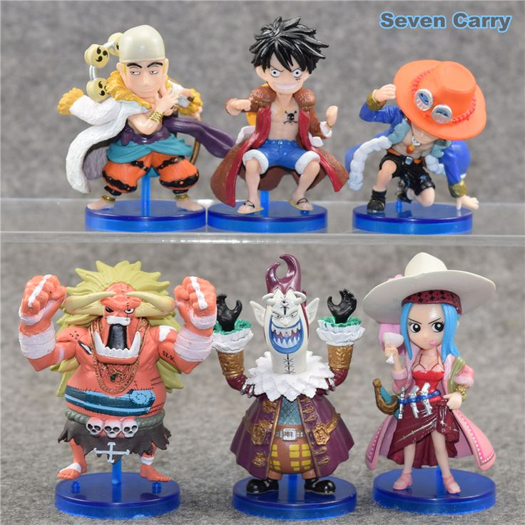 One Piece Luffy Ace Action Figures 6pcs //Price: $24.00 & FREE Shipping //     #onepiecelover #onepieceatatime #dluffystore