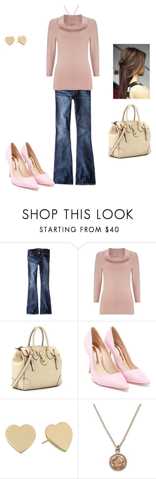 Cozy Winter Day by cindy-renee-miller on Polyvore featuring Phase Eight, American Eagle Outfitters, Sophia Webster, Kate Spade and Alex Monroe