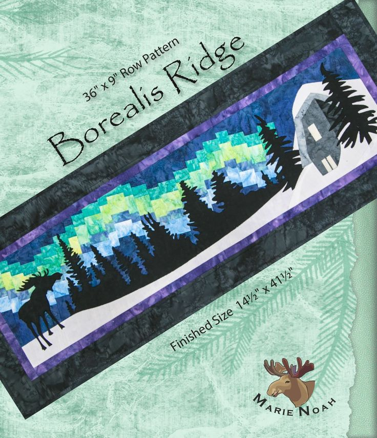 Borealis Ridge Pattern - Row by Row 2016