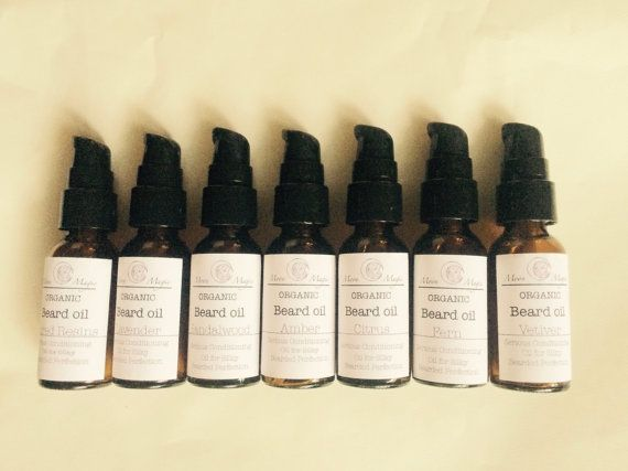 All the beard oils by moonmagic on Etsy