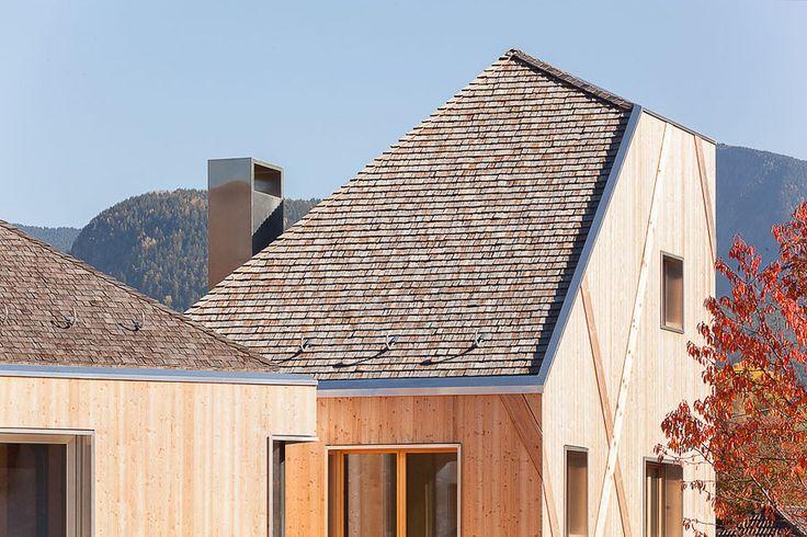 Stort i Dolomiterna av Modus, foto Meraner & Hauser – http://www.tidningentra.se/notiser/inspiration-fran-dolomiterna #arkitektur i #trä
