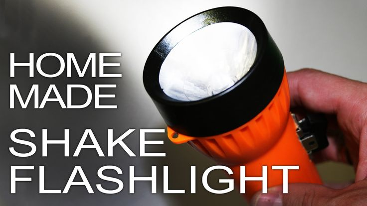 DIY Electromagnetic Flashlight: This is where it all started 5 years ago.
