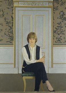 Diana, Princess of Wales, Bryan Organ, 1981. National Portrait Gallery, London