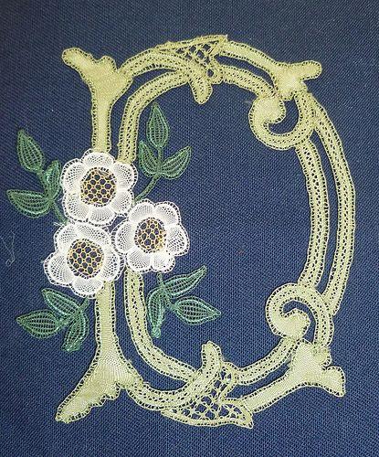 Honiton lace in colour by Elizabeth Trebble | devonlaceteachers | Flickr