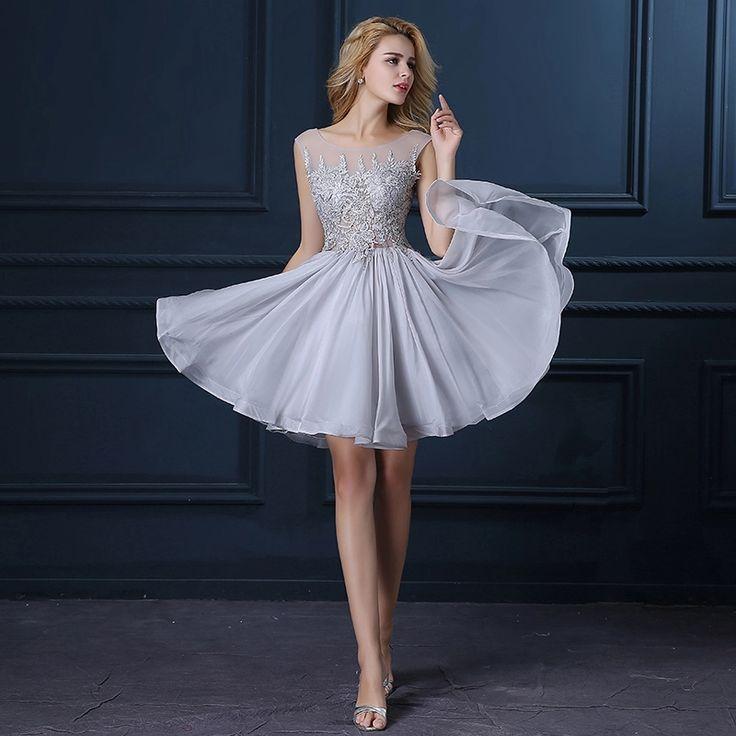 24 best Silver Dresses images on Pinterest | Bridesmade dresses ...