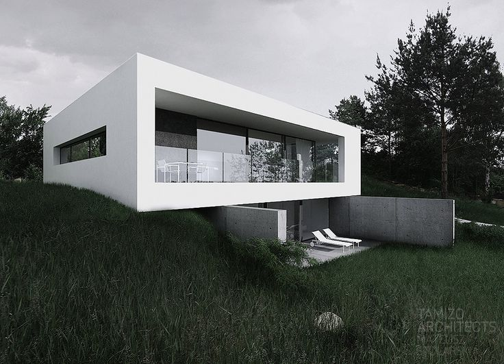 By House House On A Slope Bydgoszcz Tamizo Architects H User Ideen Pinterest