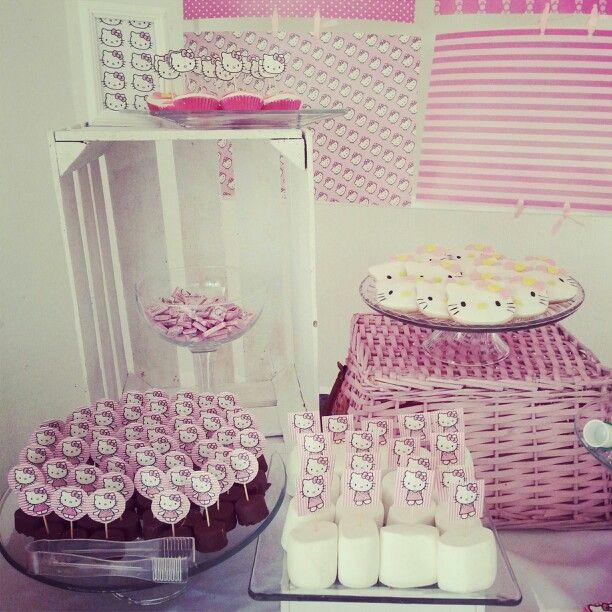 Candy station candy bar mesa de postres mesa de dulces - Decorar mesas para eventos ...