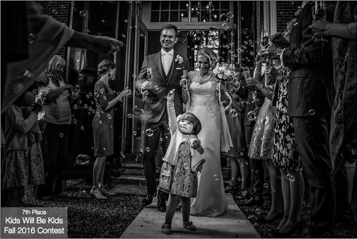 ISPWP-Award | Kids will be kids | Nicole Bosch l Wedding Photography l Fall 2016 contest