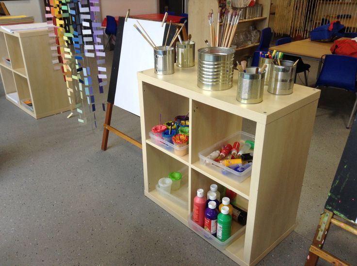 Classroom Layout Ideas With Tables ~ New classroom creative art area where children can self