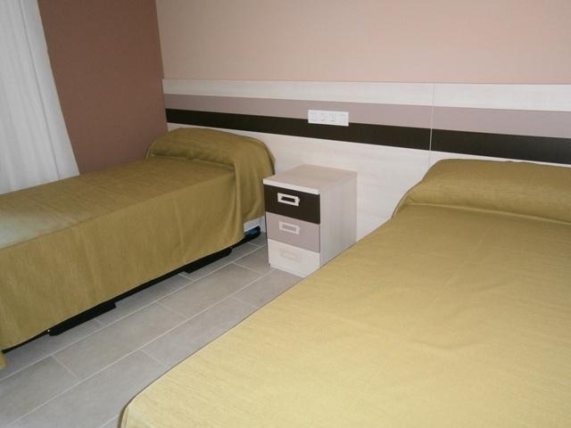 Una habitación.