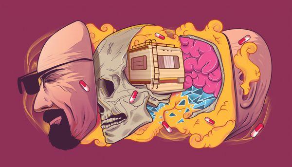 Breaking Bad Inception by Gustavo Pergoli, via Behance