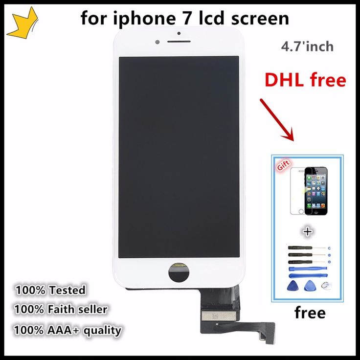 1740.00$  Buy here - http://alixu4.worldwells.pw/go.php?t=32782501051 - 10pcs/OEM No Dead Pixel For Pantalla lcd  iphone 7 for display apple 7 LCD with 3D Touch screen Digitizer Assembly Replacement  1740.00$