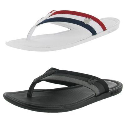 lacoste carros mens sandals flip flops clothing