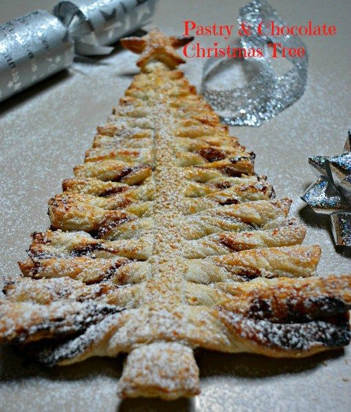 This pull-apart Chocolate Pastry Tree was really simple to make and will look great on the Christmas table. You can make it in advance and freeze and thaw or just serve this up for dessert one night in the weeks leading up to Christmas!