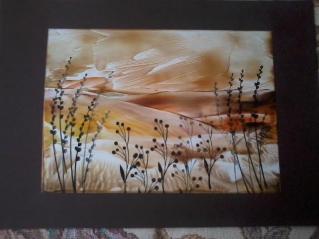 Stampy Sue: Encaustic Art