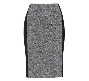 Riolo Textured Pencil Skirt