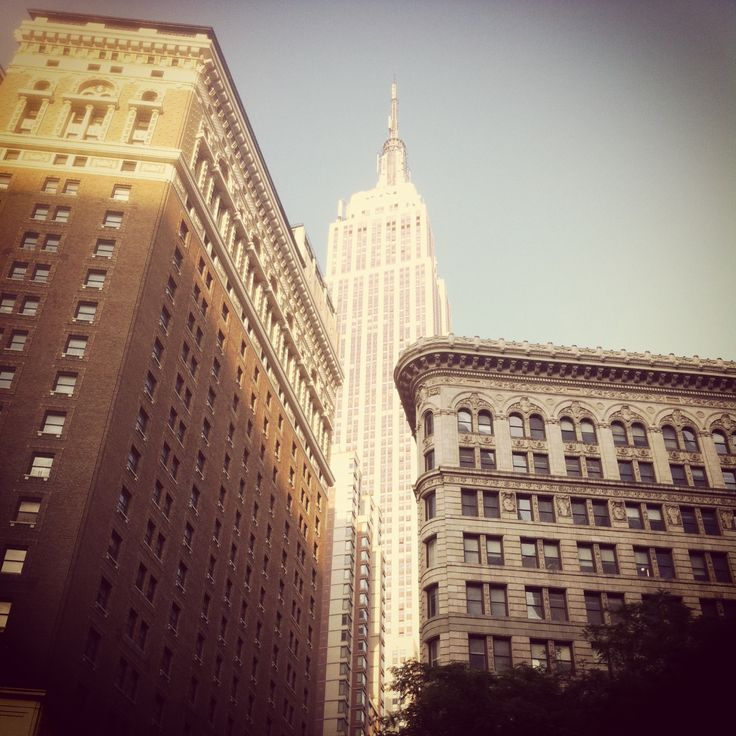 The Empire State Building, NYC