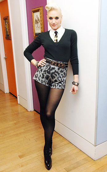Gwen Stefani's style. love.