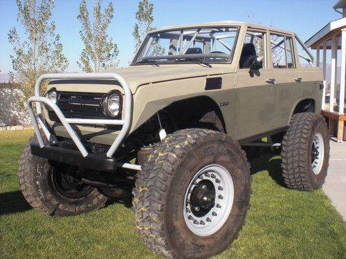 Unique Off-Road Vehicles | Unique 1976 Toyota FJ55 Land Cruiser Monster Rock Crawler Off Road ...