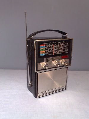 Melba Super Sensitive Multi-Band Portable Radio Tom's Toy World - TomaniaToys Made in Hong Kong