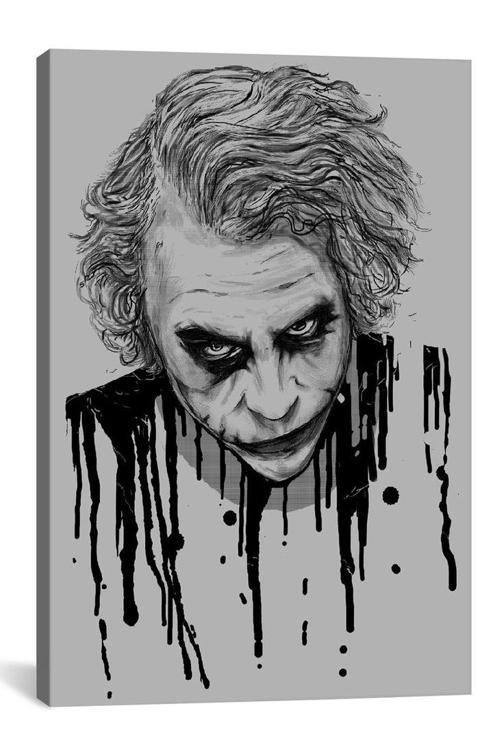 The Joker by Nicebleed Canvas Print on @HauteLook