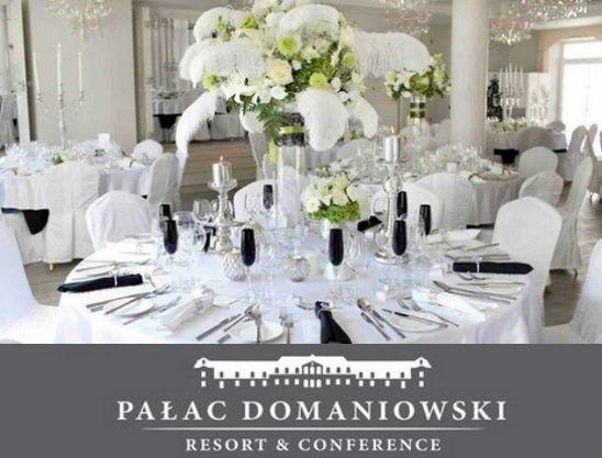 #PalacDomaniowski #Wedding #Wesele #Slub #Sala #Stoły