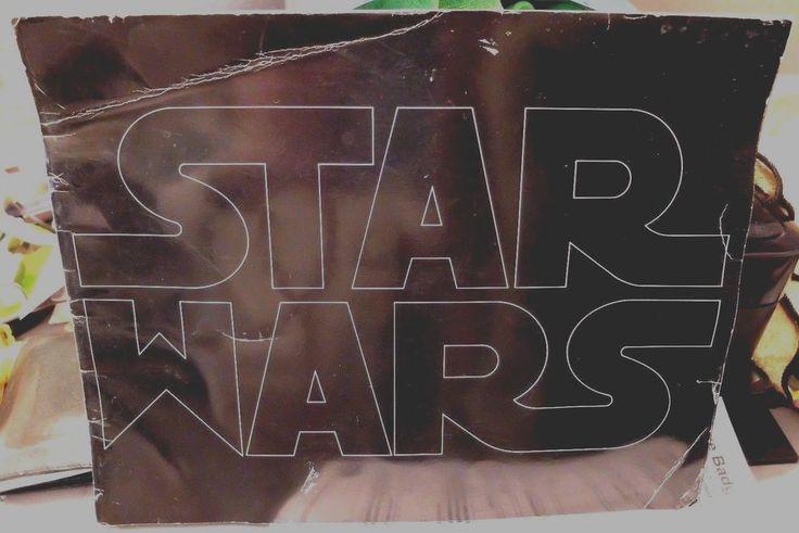 RARE Star Wars 1977 Campaign Booklet pre release press book POINTED W in Wars #20thCenturyFox