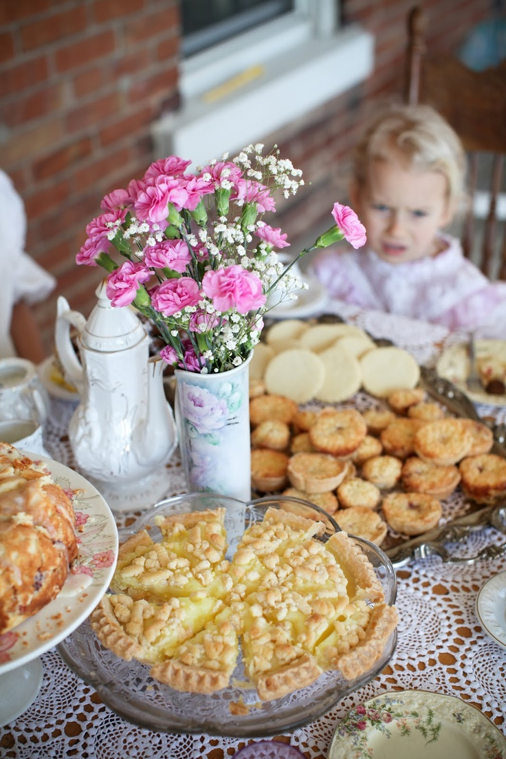 Life in the Fast Lane: Anne of Green Gables Tea Party on the first day of SPRING!!  @Jennifer Murrihy