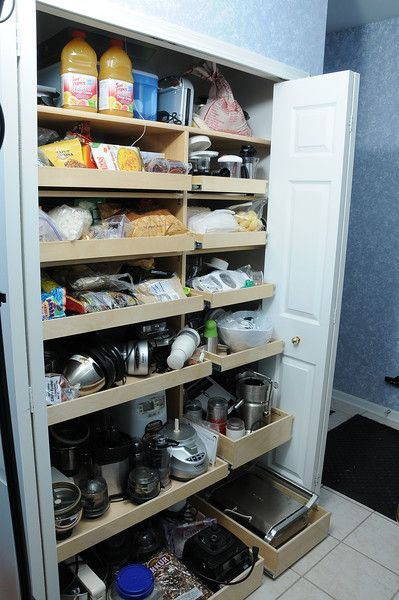 27 best pantry organization pull out shelves storage for Best pantry shelving system