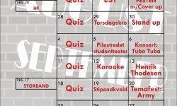 Samfunnet Bislet – Quiz hver onsdag!