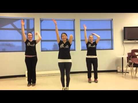 Danse échauffement #5 Jeunes en santé - YouTube