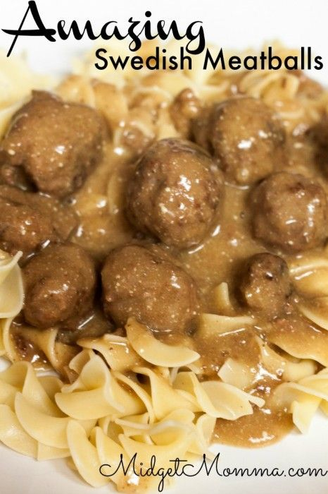 Swedish Meatballs Recipe Easy Dinner Recipe Salts