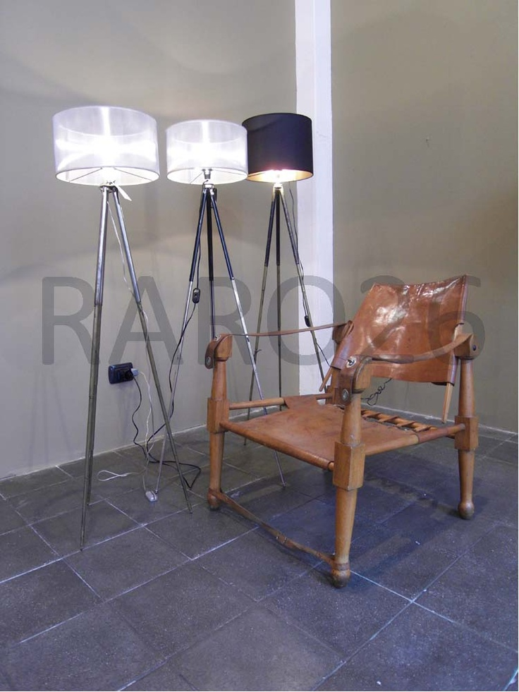 #Indian #chairs e #lampada #cavalletto in ferro