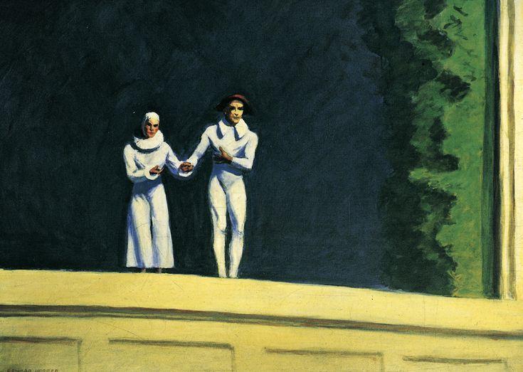 Edward Hopper - Two Comedians (1965)
