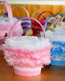 May Day Baskets as favour bags - Martha Stewart Crafts