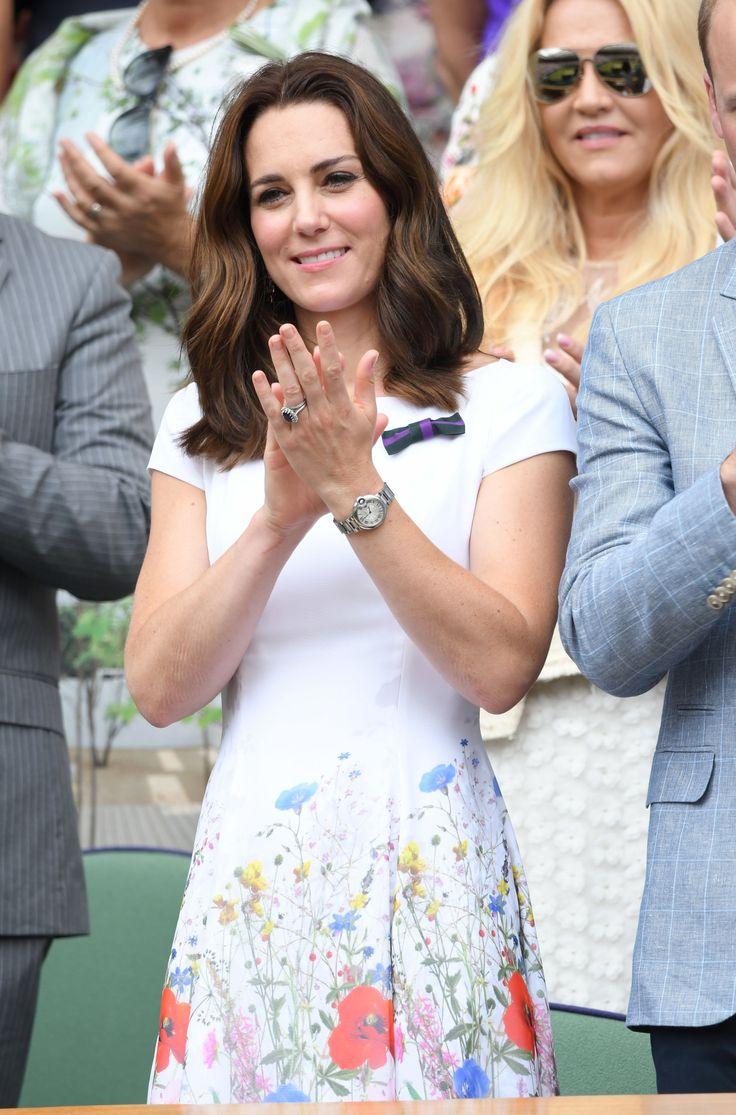 Kate Middleton at the Men's Wimbledon Final