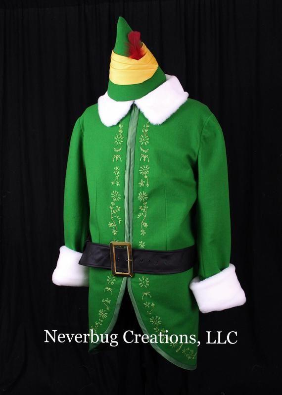 Custom Replica Elf Costume Etsy Elf Costume Santa Suits Santa Claus Parade