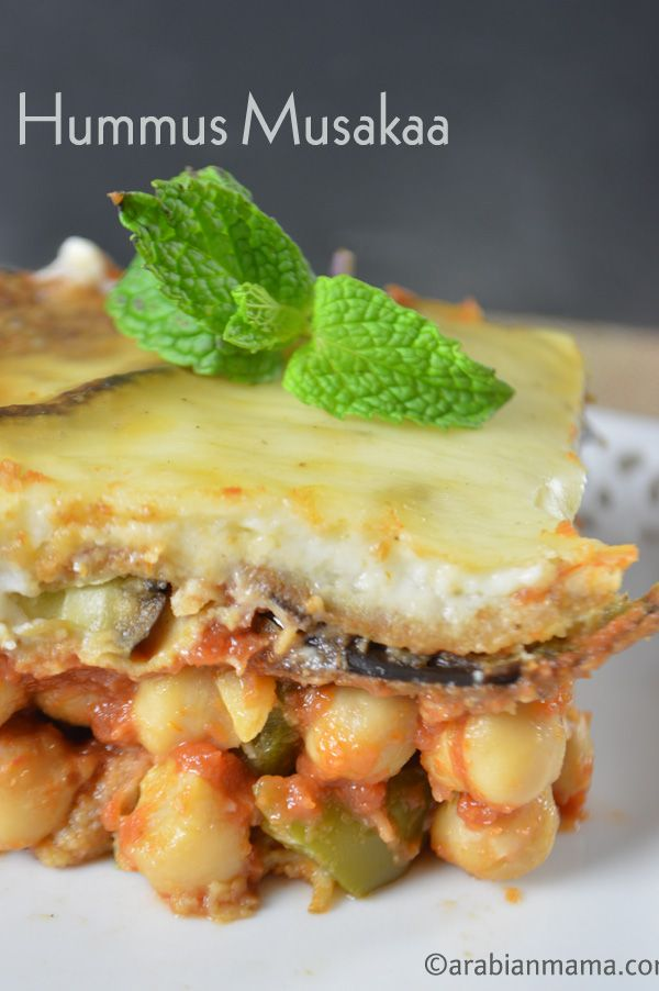 Easy meatless moussaka recipe